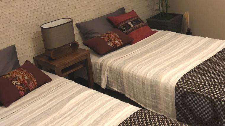 寝室のコンセント