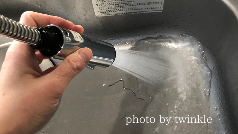 グースネック水栓は掃除がしやすい